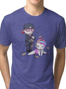PIZZA RAIN Tri-blend T-Shirt
