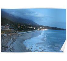 Cool Beach Vista Poster