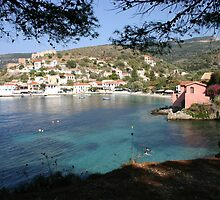 Assos, Kefalonia by johnslipimages