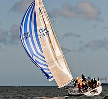 Tight Reaching with the Spinnaker by GBR309