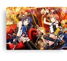 Love Live! School Idol Festival Rin Hoshizora/Umi Sonoda Canvas Print
