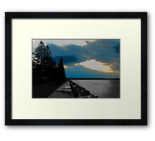 """PORT MAC"" Framed Print"