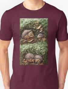 """Exclusive: """" Hérissons-Hedgehogs """" / My Creations Artistic Sculpture Relief fact Main 38  (c)(h) by Olao-Olavia / Okaio Créations Unisex T-Shirt"""