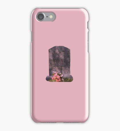 Buffy's Gravestone iPhone Case/Skin