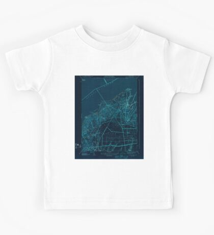 Massachusetts  USGS Historical Topo Map MA Vineyard Haven 352284 1944 31680 Inverted Kids Tee