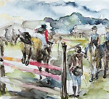Jumping A Course by Barbara Pommerenke