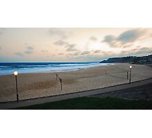 Newcastle Beach, End of Busy Day Photographic Print