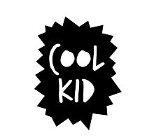 Cool Kid Photographic Print