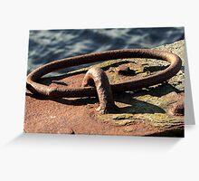 Rusty Ring Greeting Card