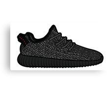Yeezy 350 Boost Black Canvas Print