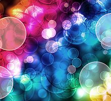 Spherical Bokeh Rainbow Play by ChiaraLily