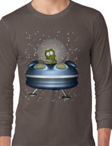 little Alien Lost in Space Long Sleeve T-Shirt