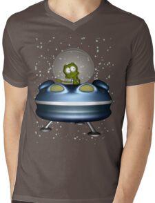 little Alien Lost in Space Mens V-Neck T-Shirt