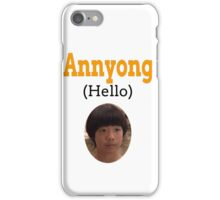 Annyong (Hello) iPhone Case/Skin