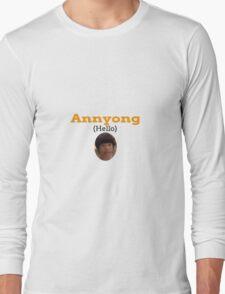 Annyong (Hello) Long Sleeve T-Shirt