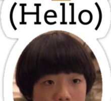 Annyong (Hello) Sticker