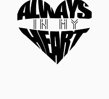 Always In My Heart - black Women's Fitted Scoop T-Shirt