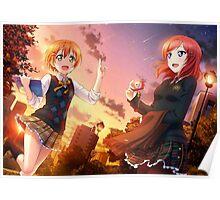 Love Live! Rin Hoshizora/Maki Nishikino Poster