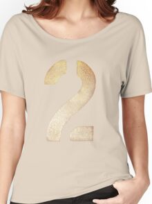 2 Tee - Gold Women's Relaxed Fit T-Shirt