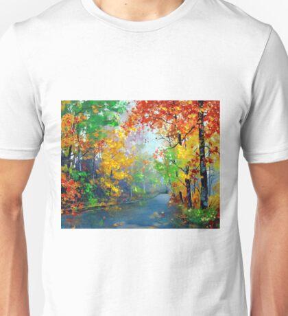 Autumn Trees 2 Unisex T-Shirt