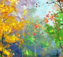 Autumn Trees 2 Sticker