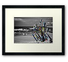 Dune Grass - Andrew Cullen Framed Print