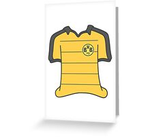 Borussia Dortmund 2015/16 Home Kit Greeting Card