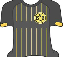 Borussia Dortmund 2015/16 Away Kit by lil-Birdbrain