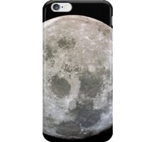 The Moon - As Seen from Apollo 11 iPhone Case/Skin