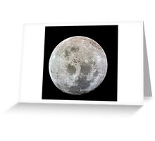 The Moon - As Seen from Apollo 11 Greeting Card