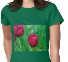 Spring Charmer Womens Fitted T-Shirt