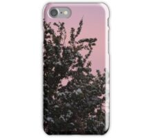 Blossom on the Pink Sky iPhone Case/Skin