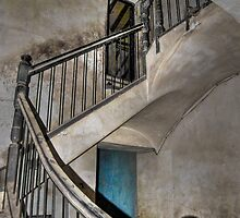 Old stair by marcopuch