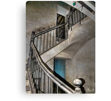 Old stair Canvas Print