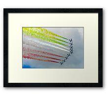 The Italian Arrows Framed Print