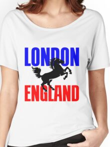LONDON, ENGLAND Women's Relaxed Fit T-Shirt