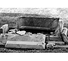 Destructive Decay Photographic Print
