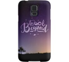 To Infinity and Beyond // Quote Toy Story Inspirational Samsung Galaxy Case/Skin