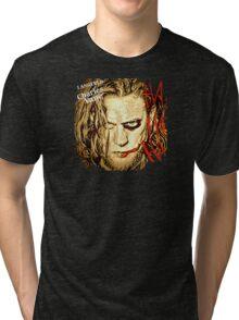 #BlkSailsBrethren's Ned Low Joker  Tri-blend T-Shirt