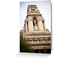 10 Trinity Squre - Statue of Neptune Greeting Card