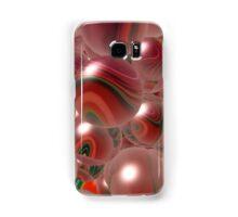 Red Bubbles Samsung Galaxy Case/Skin