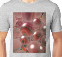 Red Bubbles Unisex T-Shirt
