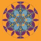 Ordandri Geometry Mandala by webgrrl