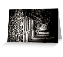 Uncommon Perspective  Greeting Card