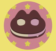 Cookie Cat! [textless] One Piece - Short Sleeve