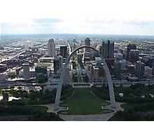 St.Louis Arch Photographic Print