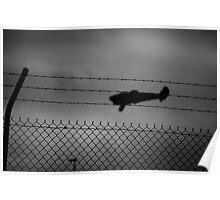 barbed flight Poster
