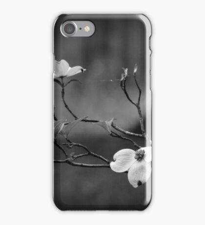 Dogwood Branch 001 BW iPhone Case/Skin