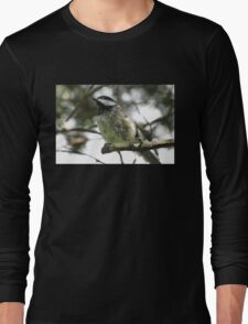 Chickadee bokeh Long Sleeve T-Shirt