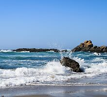 Coastal 3 Glass Beach by littleoldhag